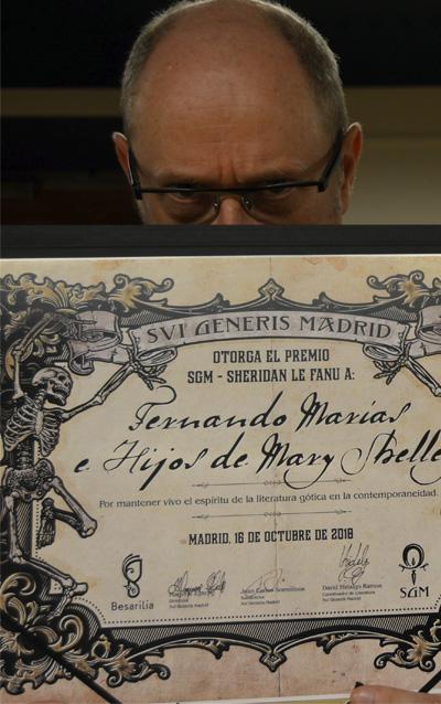 Premio Sheridan Le Fanu - SGM - Festival Sui Generis Madrid