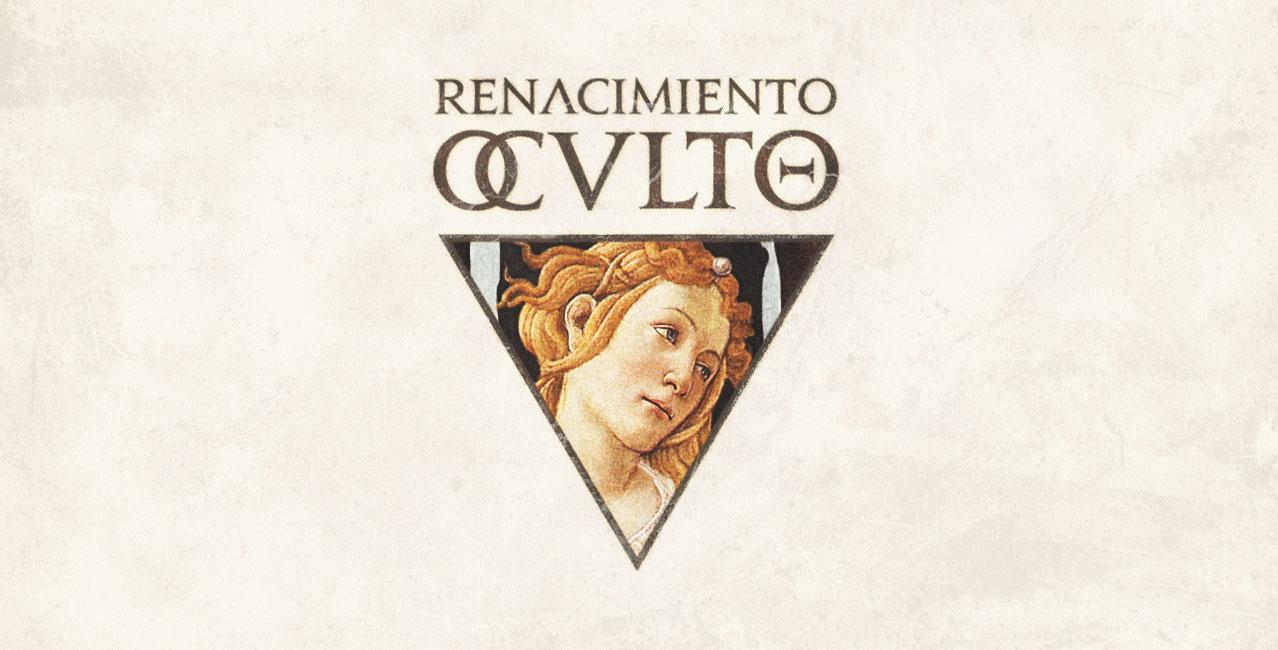 XIII SGM - Occult Renaissance logo designed by Billyphobia for Sui Generis Madrid © Besarilia 2021 - Botticelli, Spring