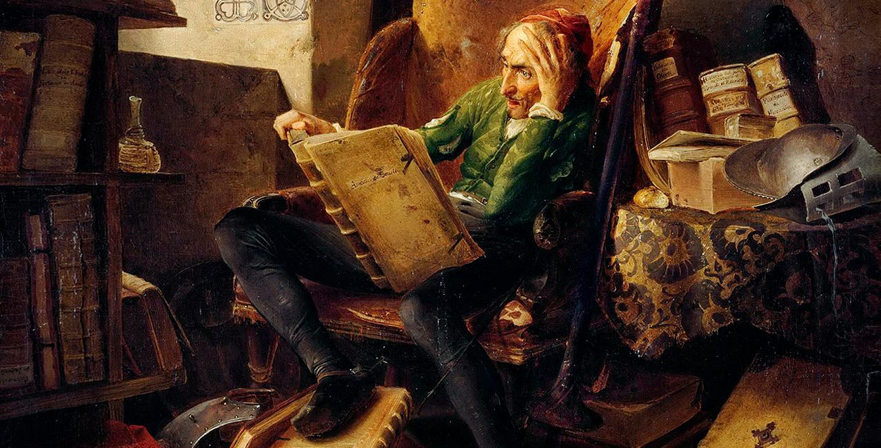 XIII SGM - Literatura - De Alonso Quijano a Don Quijote: del Logos al Mito