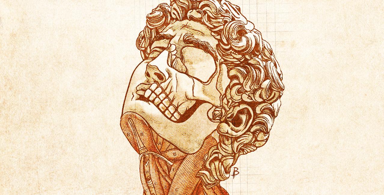 XIII SGM - Ilustración para el X Congreso sobre  arte, literatura y cultura alternativa por Billyphobia para Sui Generis Madrid © Besarilia 2021